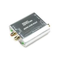 Z2 USB Sound Card Decoder Mini USB DAC Fiber Coaxial Input Earphone Output