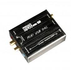 DTS Sound Card Computer External USB Input to Fiber Coaxial Analog Output