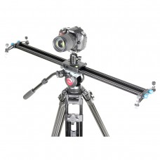 L100A Photography Camera Video Slider Compact Track 1M Travel DSLR Camera Slider Rail