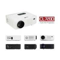 CL720D LCD LED Home Theater Projector 3000 Lumens True HD 1280x800 1080P USB  DTV