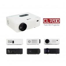 CL720D LCD LED Home Theater Projector 3000 Lumens True HD 1280x800 1080P USB/TV