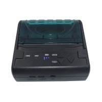 POS-8003DD 80mm MiNi Portable Bluetooth Thermal Bill Printer Android + ISO System