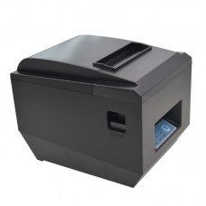 POS-8250III 80mm Direct Thermal Line Portable Receipt Printer 300mm/S USB+RS232+LAN