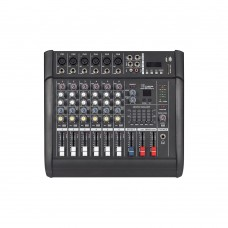PMX602D-USB 6 Channel Professional Mixing Amplifier Amp Powered Mixer Power