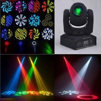 60W RGBW LED Moving Head Stage Light DMX-512 DJ Disco Party Club Stage Lighting