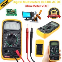 Accurate Digital LCD Voltmeter Multimeter Wide Range Tester Ammeter  AC DC