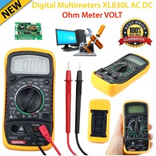 Accurate Digital LCD Voltmeter Multimeter Wide Range Tester Ammeter  AC DC