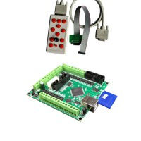 USB CNC MK4 4 Axis Motion Control Card Offline Engraving Machine Controller with Manual Controller CNC Router