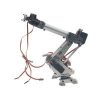 Official DOIT DoArm S6 6Dof Industrial Mechanical Robot Arm Model Metal Robotic Aluminium Alloy Manipulator DIY Vehicle Mounted