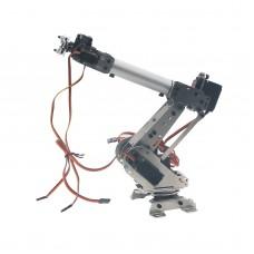 Official DOIT DoArm S6 6Dof Industrial Mechanical Robot Arm Model Stainless Steel Metal Robotic Manipulator DIY Vehicle Mounted