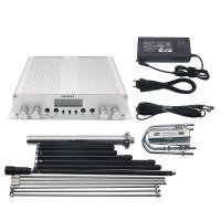 20W FM Transmitter Stereo PLL Broadcast Radio Station +Range Max Antenna+Power