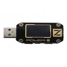 POWER-Z USB PD QC3.0 QC2.0 Tester Voltage Current Ripple Dual Type-C Meter KM001