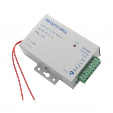 K80 DC 12V 3A /AC 110~240V Special Power Supply for Door Access Control Use