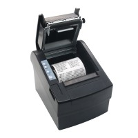 80mm POS Dot Receipt Paper Barcode Thermal Printer USB/LAN Port