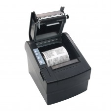 80mm POS Dot Receipt Paper Barcode Thermal Printer USB/LAN Port
