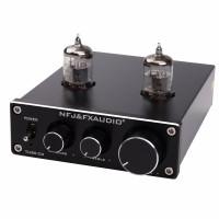 FX-AUDIO TUBE-03 MINI Pre-amps DC12V Bile 6J1 Preamp Tube Amplifier Buffer HIFI Audio Preamplifier Treble Bass Adjustment
