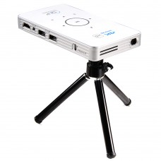 C6 DLP Mini Pocket Projector 3D 1000 Lumen 2G+16G Android LED Home Theater