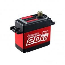 Power HD LF20MG 20KG Spatter Proof Large Torque Digital Servo for Mechnical Arm RC Cars
