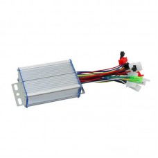36/48V 350W Intelligent Brushless Controller Dual Mode 6 Tube for Electric Cars