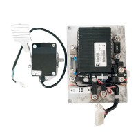 CURTIS Programmable DC SepEx Motor Controller Assemblage 1266A-5201 36V/48V with Foot Pedal Installation Kit
