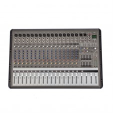 PMR1660 16 Channel 7 Band Bluetooth Professional Mixer Power Powered Stage Mixing Amplifier Amp