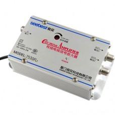 SB-7530FL7 2 way CATV Signal Amplifer Sat Cable TV Signal Amplifier Splitter Booster CATV 30DB