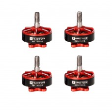 F40 PROⅡ KV2400 Reactor Red Brushless Motor 12N14P for FPV Quadcopter Drone Multicopter 4PCS