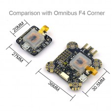 Omnibus F4 Corner Nano Flight Controller Board ICM20608/MPU-6000 for RC FPV Racing Drone