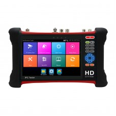 "7"" CCTV Tester Monitor H.265/H.264 IPC AHD/CVI/TVI/SDI Analog IP Camera Tester"