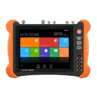 X9-ADHS CCTV Tester Monitor AHD/CVI/TVI/SDI Multimeter IP Camera Tester