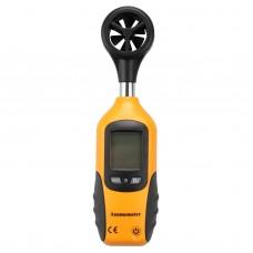 HT-81 Handheld Digital Anemometer Wind Speed Measurement Measuring Tool LCD Screen Display