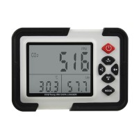 HT-2000 Digital CO2 Monitor CO2 Meter Gas Analyzer Detector 9999ppm CO2 Analyzers With Temperature Humidity Test