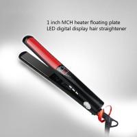Hair Straightener Hair Styler MCH Heater Floating Plate Hard Titanium LED Digital Display