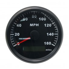 85mm GPS Speedometer Odometer 160MPH With Backlight 12V/24V for Car Motorcycle Truck