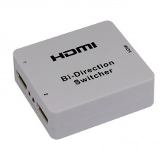 HDMI 1x2 Bi-Direction Switch Switcher AB Converter Support HDMI 1920x1080P for TV DVD