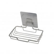 5PCS Strong Suction Bath Wall Mounted Soap Dish Cap Case Holder Buckle Stainless Steel