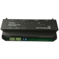PD4-DIN Pro RS485 Silicon Controlled LED C4 Gide Rail Compatible 4 Channel Dimming Module