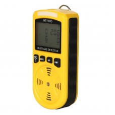 HT-1805 4 In1 Gas Analyzer Detector Portable O2 CO H2S Harmful Gas Tester