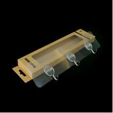 5PCS Magic Hooks Transparent Movable Traceless Strong Suction 5KG Load