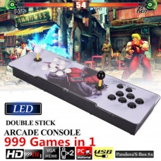 999 In1 Pandora Box 5S Arcade Video Game Double Stick Console Street Fighter US/UK/EU/AU Plug