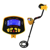 Underground Metal Detector MD3010II High Sensitivity LCD Display MD-3010II Gold Metal Detector Treasure Pinpointer