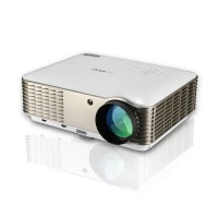 EUG X88 4500lms HD LED Projector 1080p Home Theater HDMI VGA USB Wall Ceiling Projection
