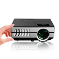 EUG 600D EUG Pocket Mini Projector HD 1080p Support 1500 Lumen Portable Home Theatre HDMI