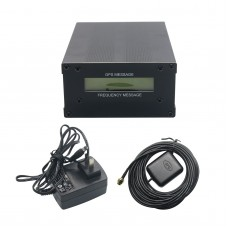 GPSDO GPS Colck 10M with LCD Display Frequency Message Disciplined Oscillator