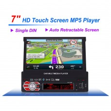 "7"" HD Touch Screen Car Multimedia Player MP5 MP4 MP3 Player GPS AM/FM Radio"