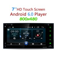 """Android 6.0 Car MP5 Player WiFi Rear View Reversing GPS Navigation 800x480 7"""" Touch Screen"""