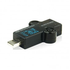 3 Bit Advanced Version USB Security Tester Capacity Detector Current Voltage Tester OLED Charger