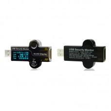 5 Bit Fever Version USB Security Tester Capacity Detector Current Voltage Tester OLED Charger