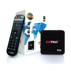 EVPAD 2S+ Smart TV Box 8 Core CPU+GPU H.265 8G 1000+ Broadcast Channel