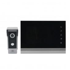 "7"" Color Video Intercom System Monitor Kit IR Night Vision Camera Doorbell for Apartments"